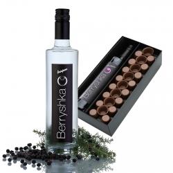 Berryshka Party Pack - Brinjevec s čokoladnimi kozarčki