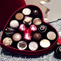 Bonboniera La chocolate - Veliki srček